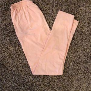 Pants - Peach leggings
